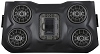 POLARIS RZR XP1000 - 15+ RZR 900 BLUETOOTH IPOD 4 SPEAKER OVERHEAD WEATHER PROOF AUDIO SYSTEM