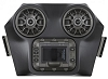 POLARIS RZR BLUETOOTH IPOD 2 SPEAKER OVERHEAD WEATHER PROOF AUDIO SYSTEM