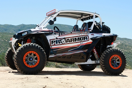 Pro Armor Rzr 1000 And 2015 900 Rock Sliders Sheet Metal
