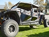 RZR Lower Door Extensions, 4 Seat