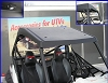 RZR Cooter Brown Top with LED Dome Light