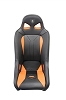 RZR/XP G2 Seat - Black w/Orange (loose cushion w/sand drain)