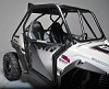 RZR 570/800/900 XP Doors w/ Sheet Metal w/CUT OUTS (Set) BLACK