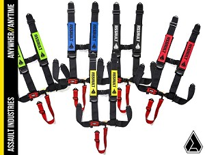 ASSAULT INDUSTRIES 5PT HARNESS