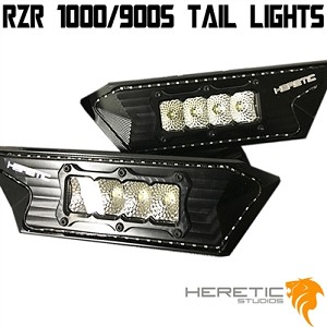 POLARIS LED TAIL LIGHTS XP1000 AND 900S (BILLET)